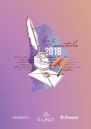Les Essentiels 2018