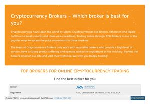 online cryptocurrency trading