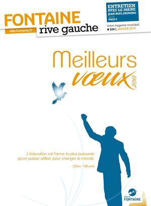 Fontaine Rive Gauche 324 Janvier 2018