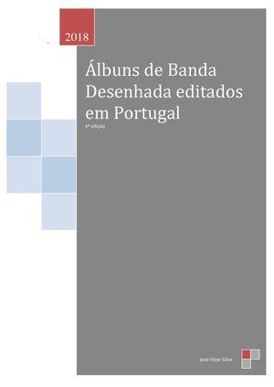 a0884eac301 Calaméo - Albuns de BD editados em Portugal - Edição de 2018