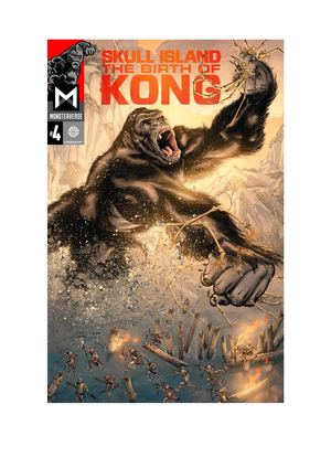 Skull Island The Birth Of Kong Vol 4