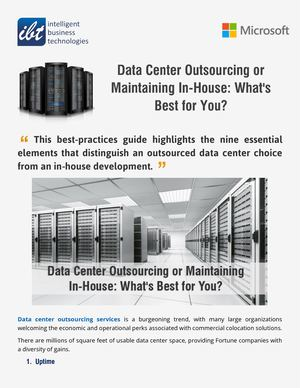 Data Centers And The 100% Uptime Guarantee