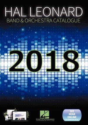 Calamo Hal Leonard Australia Band Orchestra Catalogue 2018