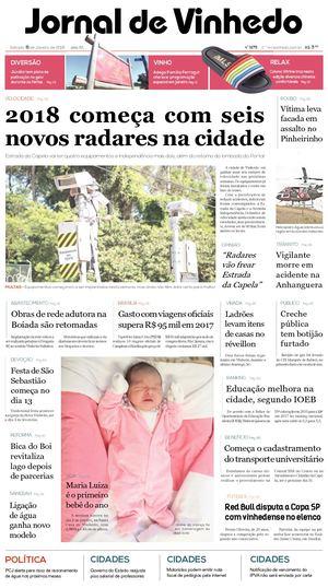 Calaméo - Jornal De Vinhedo Sabado06 De Janeiro De 2018 Edic1675 e8fe72abe9