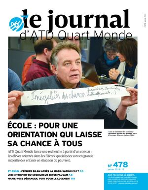 Le Journal d'ATD Quart Monde n°478 Janv 2018