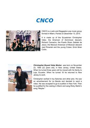 Biography Of Cnco