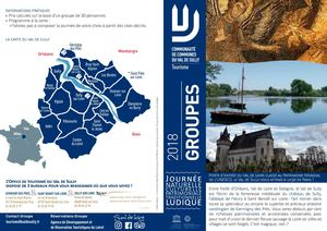 2018 Brochure Groupes Val De Sully