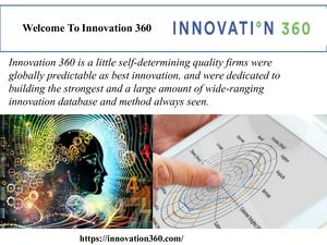 WELCOME TO INNOVATION 360
