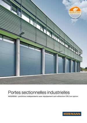 Portes Sectionelles Industrielles 86465 Fr