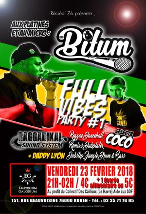 FULL VIBES PARTY 1   LORD BITUM / SELECTA COCO