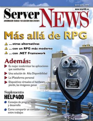 ServerNEWS - 185 (Jun/Jul 2008)