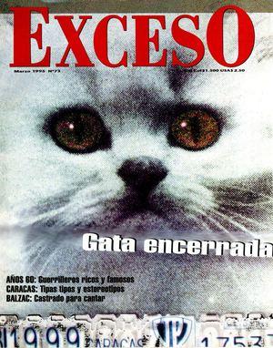 9072b0c702008 Calaméo - REVISTA EXCESO EDICION Nº 73 MARZO 1995