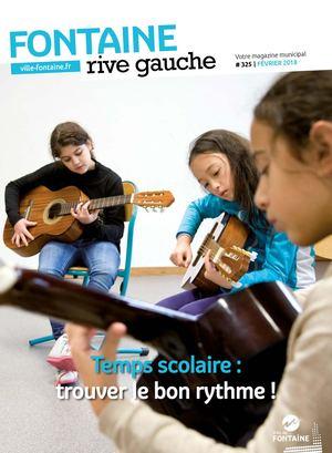 Fontaine Rive Gauche 325 Février 2018