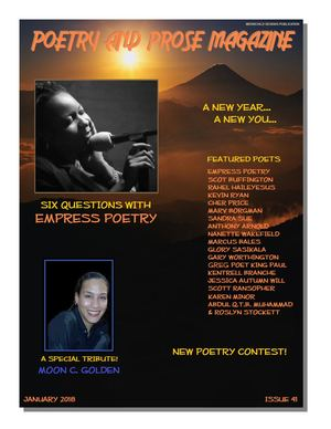 January 2018 Poetry & Prose Magazine