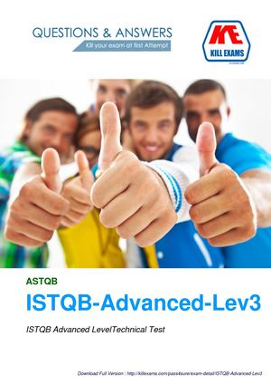 Pass4sure ISTQB-Advanced-Level-3 Practice Tests with Real Questions