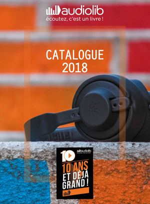 Catalogue Audiolib 2018