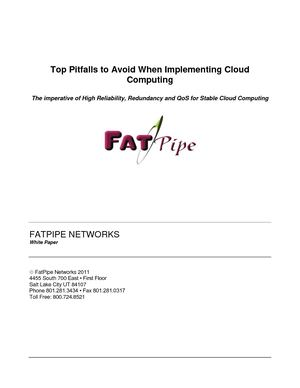 FatPipe Cloud Computing
