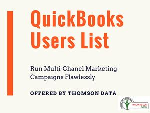 Quick Books Users Mailing List