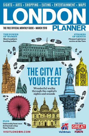 LONDON PLANNER MARCH 2018