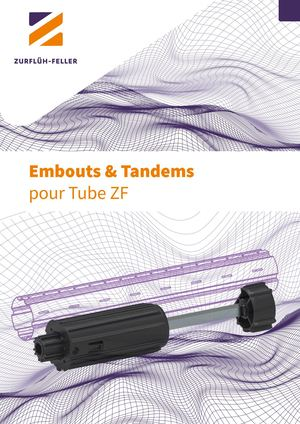 EMBOUTS ET TANDEMS TUBE ZF