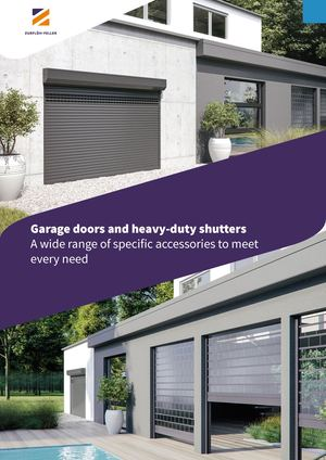 Garage doors and heavy duty shutters A wide range of specific accessories to meet every need