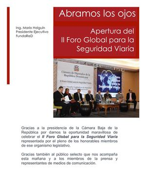 Ii Foro Global Desafios Legislativos En Sv