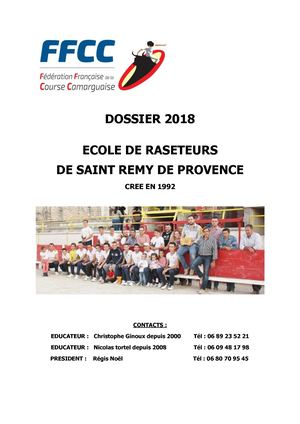 DOSSIER INSCRIPTION 2018