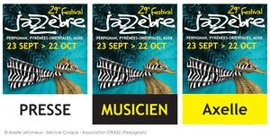 Jazzèbre - Badges