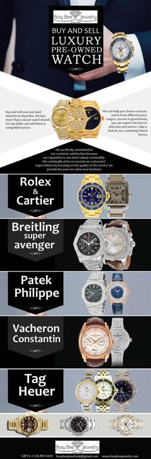 Best Place to Sell Your Luxury Watches in New York
