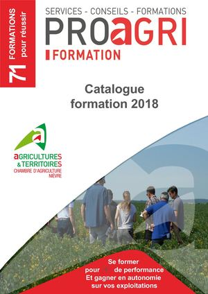 Catalogue Formations 2018