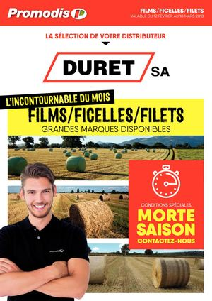 Duret Films-Ficelles-Filets Promodis 2018
