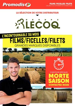 Lecoq Films-Ficelles-Filets Promodis 2018