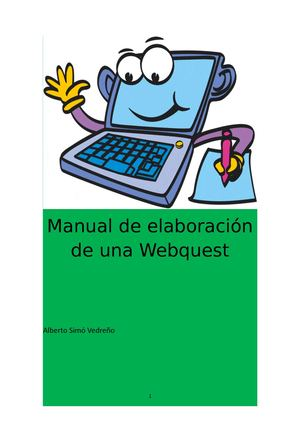 Manual De Elaboración De Una Webquest