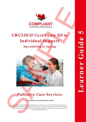 SAMPLE CHC33015 AC Subject 5 LEARNER GUIDE