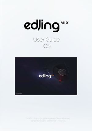 User Guide Edjing Mix I Os