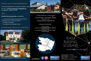 Team Building Solidaire Brochure