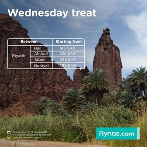 Flynas Wednesday Offers