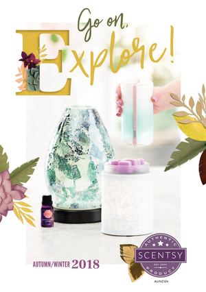 Scentsy Autumn Winter 2018 Catalogue AU Pricing https://scentbars.scentsy.us