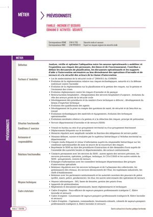 Fiche 148 Spp Preventionniste