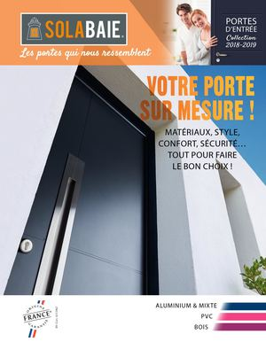 Catalogue Portes Entree Solabaie 2018