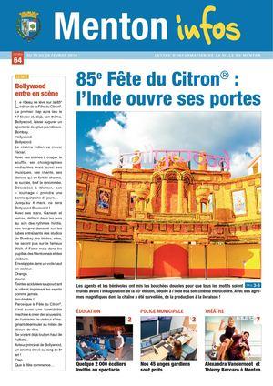 Menton Infos N°64