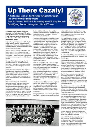 Cazaly Issue 4