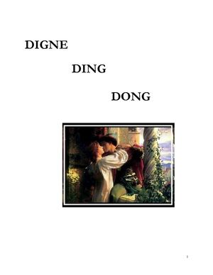 Nouvelle inédite : Digne Ding Dong