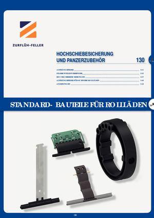 Maxi Rolladen Aufhängefeder Stahlfeder schwarz 200mm