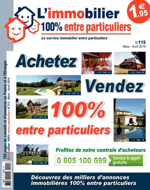L'immobilier 100% entre Particuliers – Appelimmo – N°115 – Mars/Avril 2018