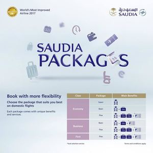 Saudia Packages