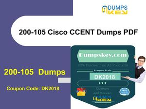 Cisco 200-105 Dumps PDF [Updated 2018] - Shortcut To Succes