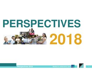 Perspectives 2018 Agefospme
