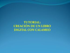 Tutorial Calameo2