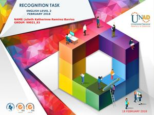 Activity guide and rubric Pre-knowledge - Task 1 - Recognition forum